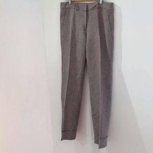 Femme linen blend pants